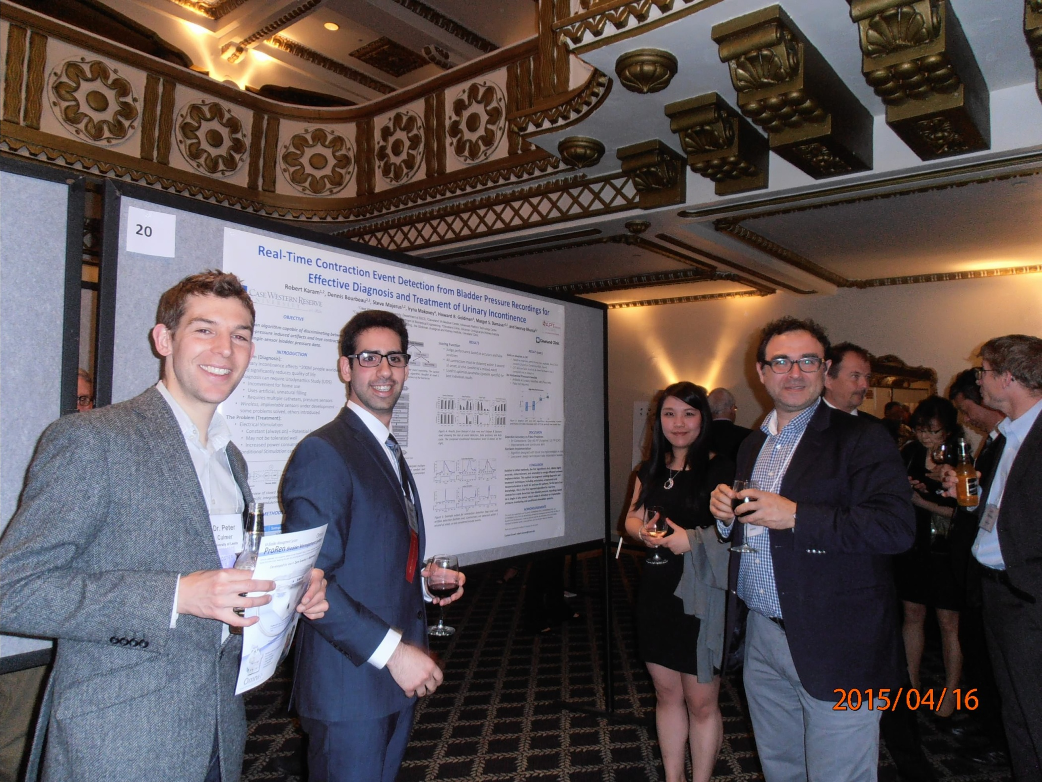 Innovating for Continence 2015 Poster Session